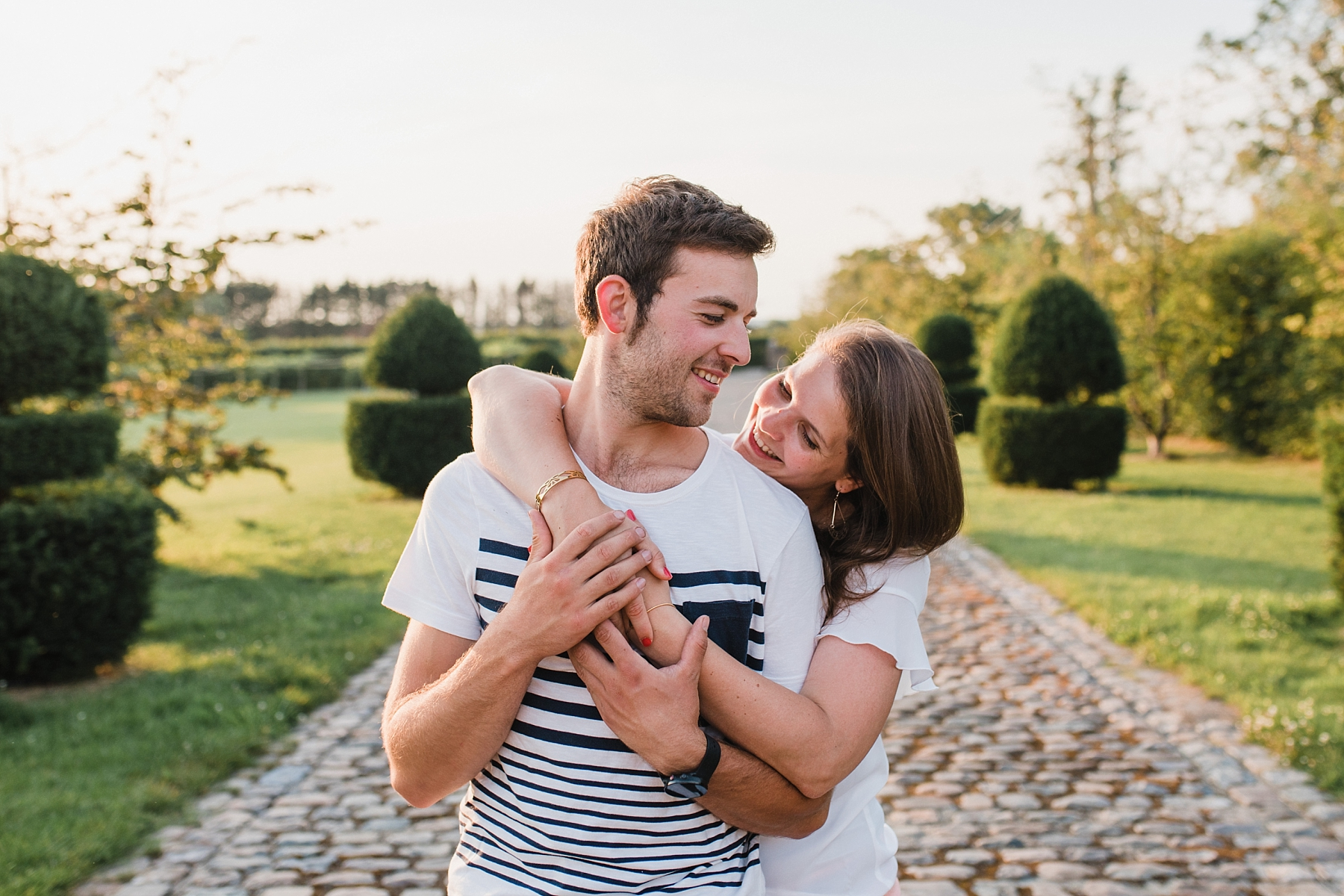 engagement session before wedding