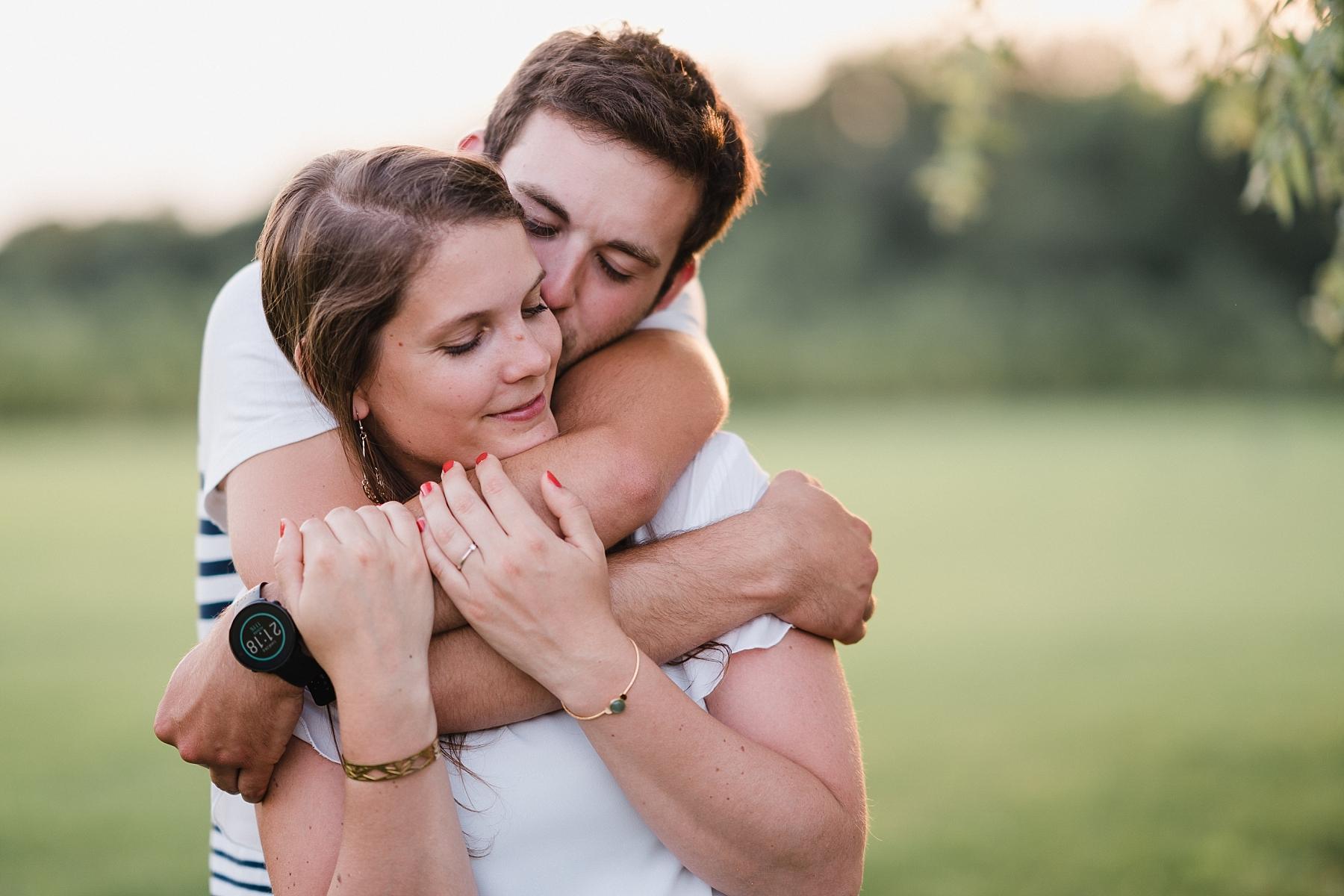 couple shooting before wedding